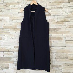 Black Sleek Blazer Waistcoat by Zara Basic